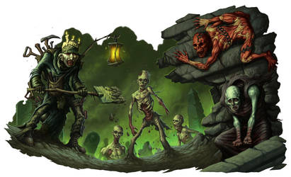 Zombies by DaveAllsop