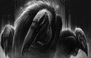 Phantom Cranes by DaveAllsop