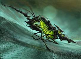 Caustic Hound by DaveAllsop