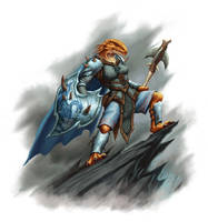 God Warder by DaveAllsop