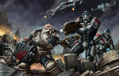 Warpath by DaveAllsop