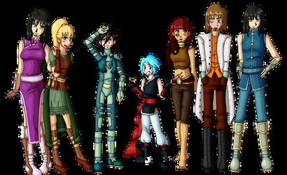 New Look Lineup by YearOfTheKitty