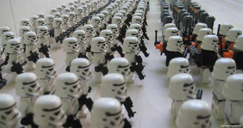 Lego Galactic Empire I by franklando