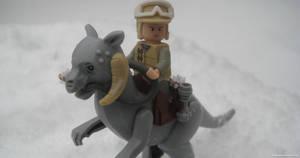 The Empire Strikes Brick: 4 of 5 by franklando