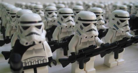 Lego Galactic Empire II by franklando