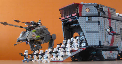 Galactic Republic AT-TC by franklando