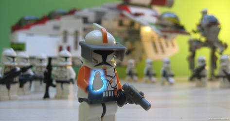 Execute Order 66 - Commander Cody by franklando