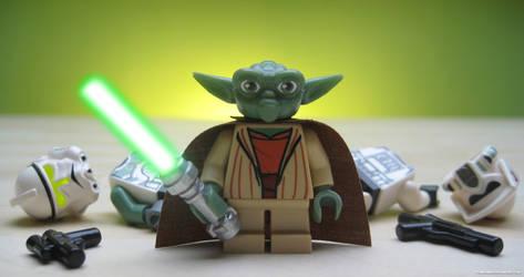 Execute Order 66 - Master Yoda by franklando