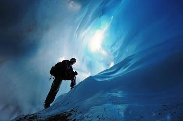 ice cave adventure by porbital