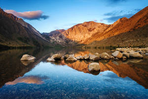 Convict Lake Sunrise by porbital