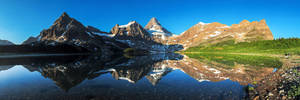 Mount Assiniboine Panorama by porbital
