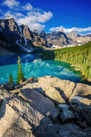 Paradise of Canadian Rockies by porbital