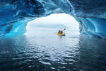 Inside a floating ice by porbital