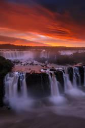 Iguazu Falls by porbital
