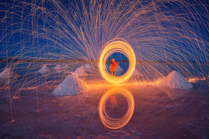 Circle Fire by porbital