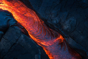 Lava River by porbital