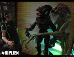 A Family Affair - RIPLIEN Custom Figure by Oz-Muerte