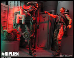 Hudson Heights - RIPLIEN Custom Figure by Oz-Muerte