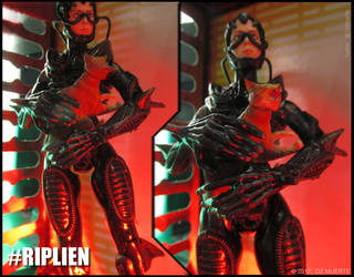 Protect Your Pussy - RIPLIEN Custom Figure by Oz-Muerte