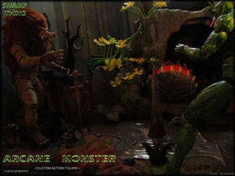 Duel At Dawn - Arcane Monster Custom Figure by Oz-Muerte