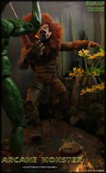 Bayou Battle - Arcane Monster Custom Figure by Oz-Muerte
