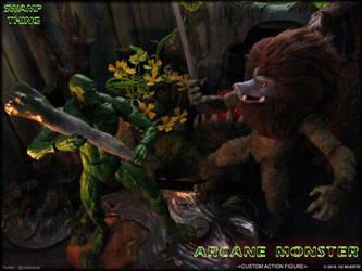 Sword VS Club - Arcane Monster Custom Figure by Oz-Muerte
