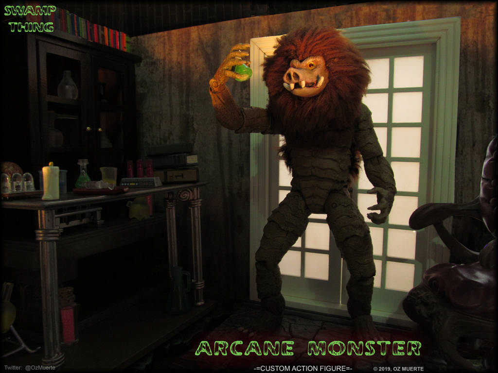 Amplified Essence - Arcane Monster Custom Figure by Oz-Muerte