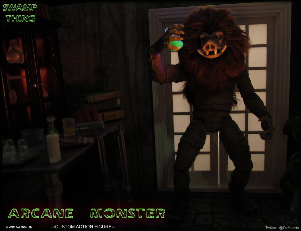A Gruesome Grin - Arcane Monster Custom Figure by Oz-Muerte