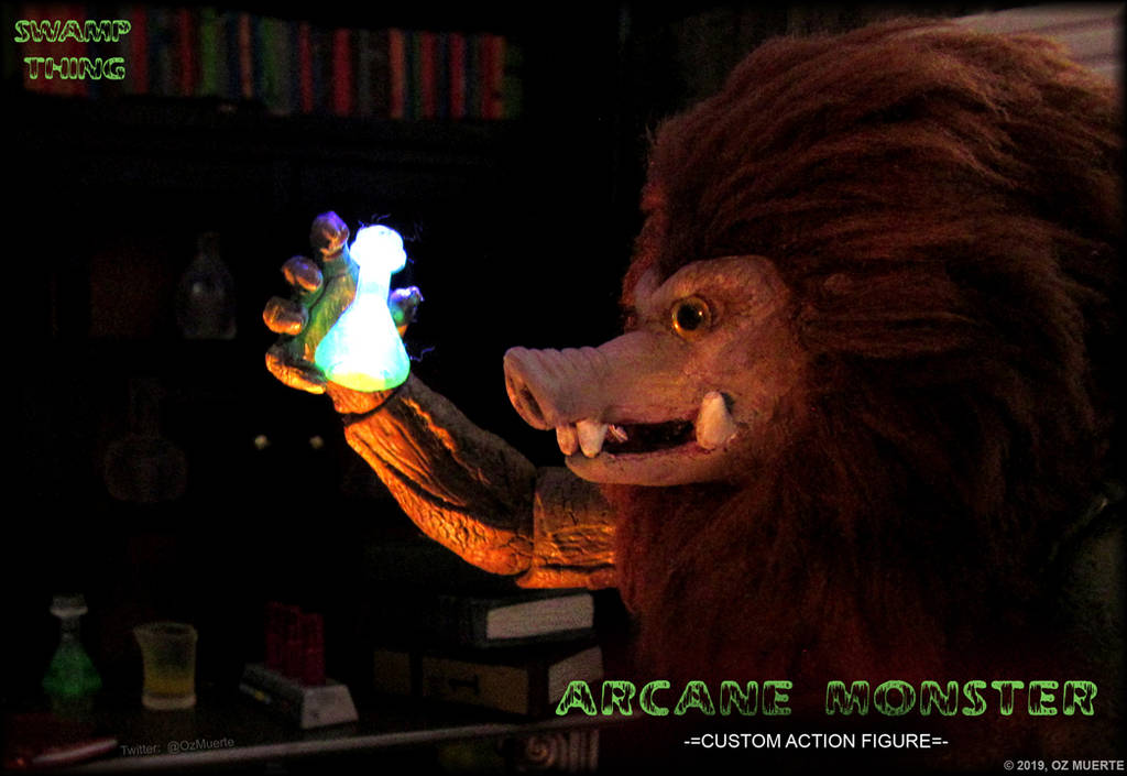 Powerful Potion - Arcane Monster Custom Figure by Oz-Muerte
