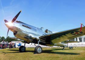 Curtiss P-40C Warhawk by homicidal45