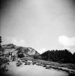 View from Mt. Rainier by rakastajatar