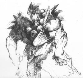 akuma's power by tincan21