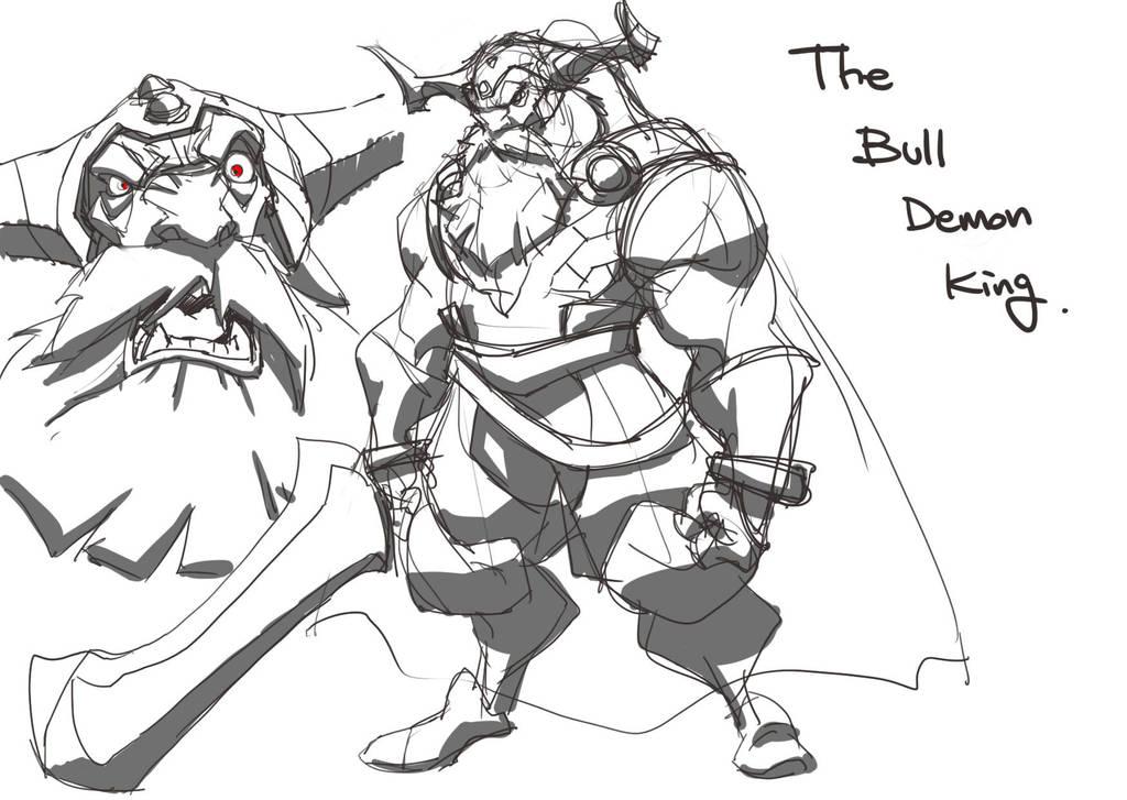 The Bull demon king by tincan21