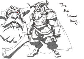 The Bull demon king by tincan21