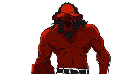 Hellboy2 by tincan21