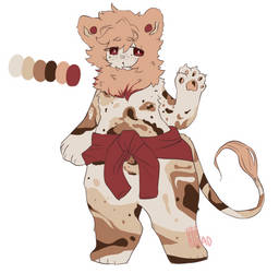 Spotted lion adopt set price OPEN by UbeBread