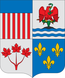 Coat of arms of North America by Alb-Burguete