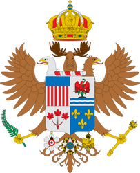 Great coat of arms of North America by Alb-Burguete