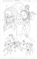 Jose 5 Yr. old Zombie Fighter by therealARTURO