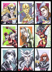 Women of Marvel by therealARTURO