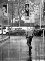 Rainskating b+w by jpwplus