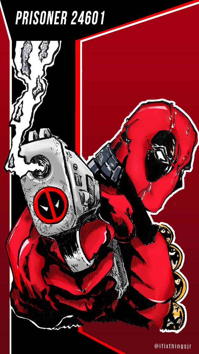 Deadpool wallpaper iPhone minimal by NatsubaruahJr ...