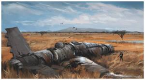 Crash in the Serengeti by PencilandStylus