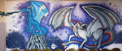 I have dragons in my school! by avafury
