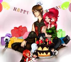 HAPPY BIRTHDAY AZZ!!! by CuBur