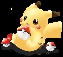 Pika Pika ..Pikachu.. by CuBur
