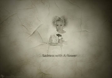 Sadness with A flower by Recks-4you