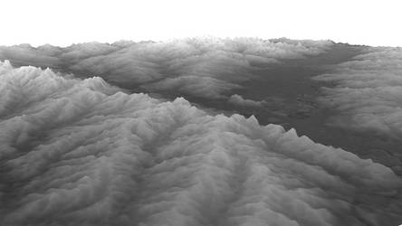 Testing Digital Elevation Model to Displacement by The4thaggie