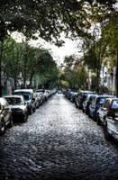 small town by Alandil-Lenard