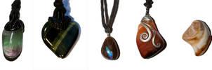 Necklaces by Alandil-Lenard